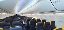 Ryanair: w Boeingach 737 MAX więcej miejsca na nogi niż w Lufthansie