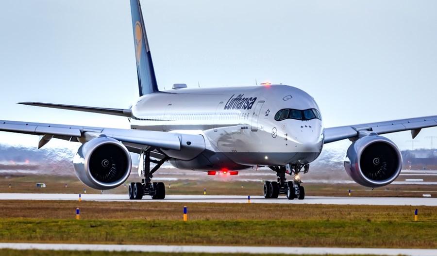 Frankfurt: Lufthansa wdroży na długie trasy cztery A350-900