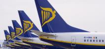 Szykuje się 24-godzinny strajk pilotów Ryanair w Irlandii
