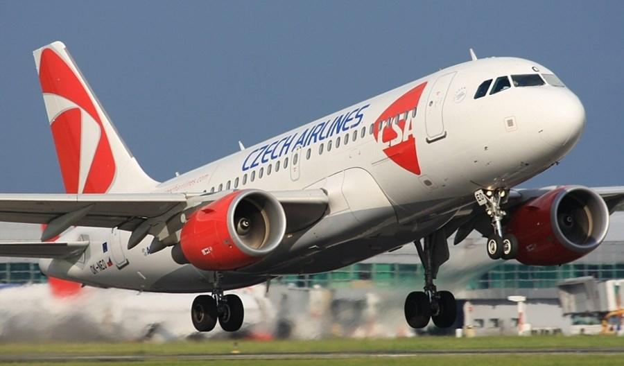 Upadłe linie lotnicze Czech Airlines ogłaszają nowe trasy