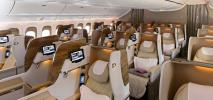 Emirates prezentują nowe kabiny w Boeingach 777