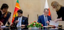 Polska i Sri Lanka podpisały umowę o transporcie lotniczym