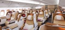 Emirates: Szersze fotele w klasie biznes na pokładzie Boeinga 777