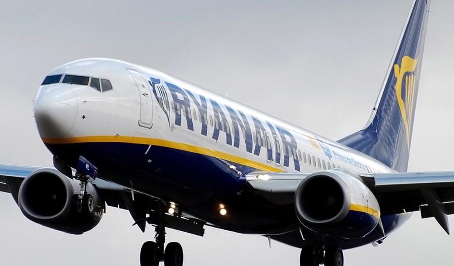 Ryanair: 9-proc. wzrost ruchu pasażerskiego w lutym
