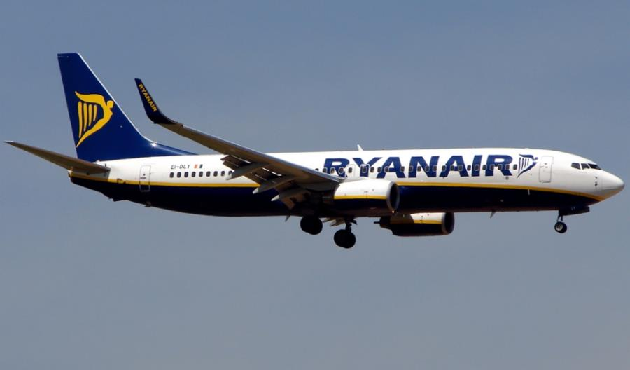 Ryanair spodziewa się przewieźć w lipcu 4,5 miliona pasażerów