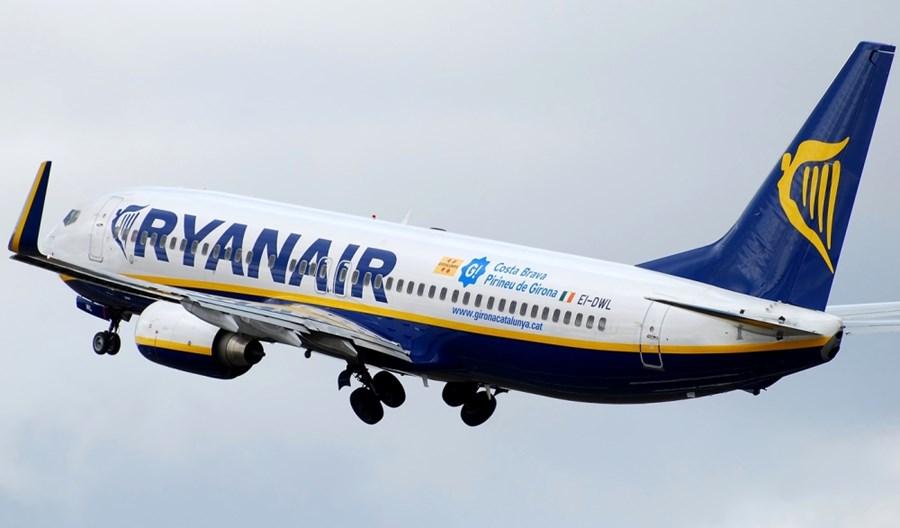 Ryanair odwołuje wszystkie loty z/do Polski do 31 marca