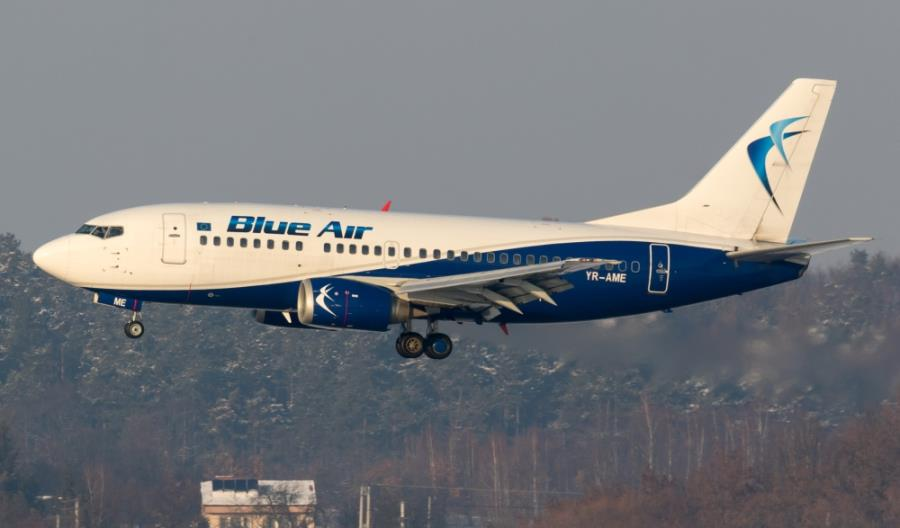 Blue Air zyskały 62 mln euro i rozszerzą sieć tras z Turynu i Bacau