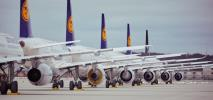 Przewozowe wyniki Grupy Lufthansa za kwiecień