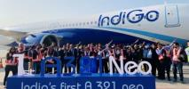 Pierwszy A321neo już w IndiGo