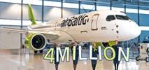 airBaltic: Ponad 4 mln pasażerów i 18-proc. wzrost w 2018 r.