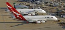 Qantas wróci szybciej na krajowe trasy, ale A380 i B747 poczekają nawet rok