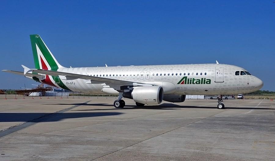"""Alitalia oferują """"Covid Tested Flights"""" między Rzymem i Mediolanem"""