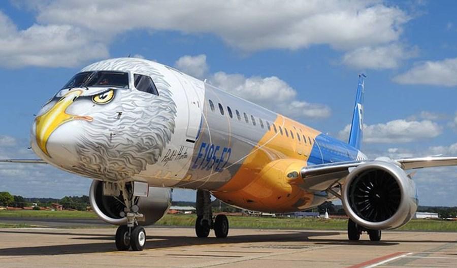 Embraer uzyska pożyczkę i ma zamówienia na maszyny za 16 mld dolarów