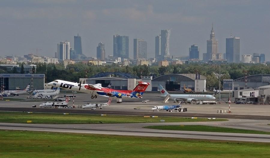 Lotnisko Chopina zaprezentowało nowy magazyn EBS. To oszczędność czasu dla pasażerów