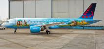 Brussels: Airbus A320 w malowaniu Bruegla