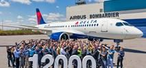 Airbus świętuje dostawę 12-tysięcznego samolotu