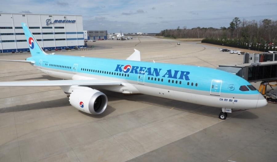 Sześciomiesięczne urlopy 70 proc. pracowników Korean Air