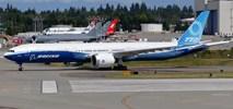 Boeing: Pierwszy lot B777X zaplanowano na 23 stycznia