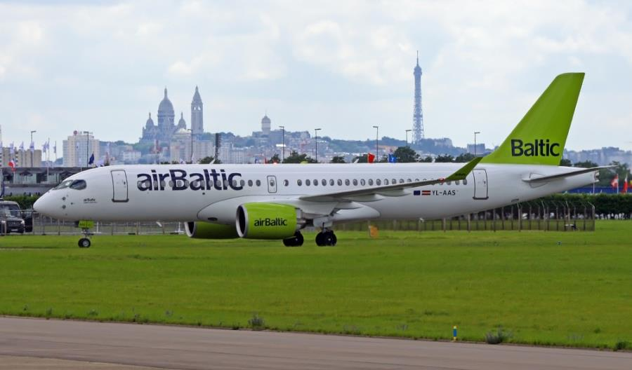A220 airBaltic do końca listopada w Lufthansie. Poleci także do Wrocławia
