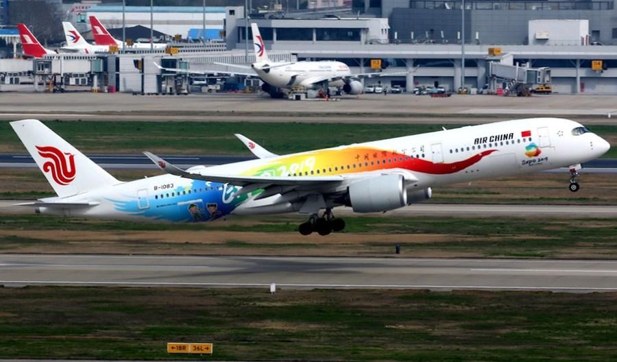 Chiński rynek lotniczy notuje niespotykane spadki