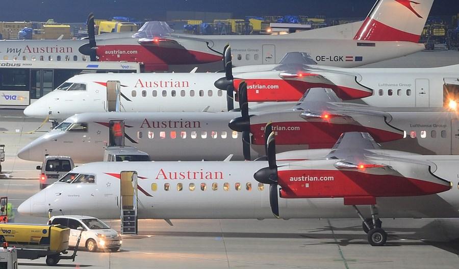 Austrian Airlines wznowiły 15 tras. Usunięte loty do Szanghaju i Tel Awiwu