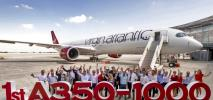 Virgin Atlantic odebrał pierwszego airbusa A350