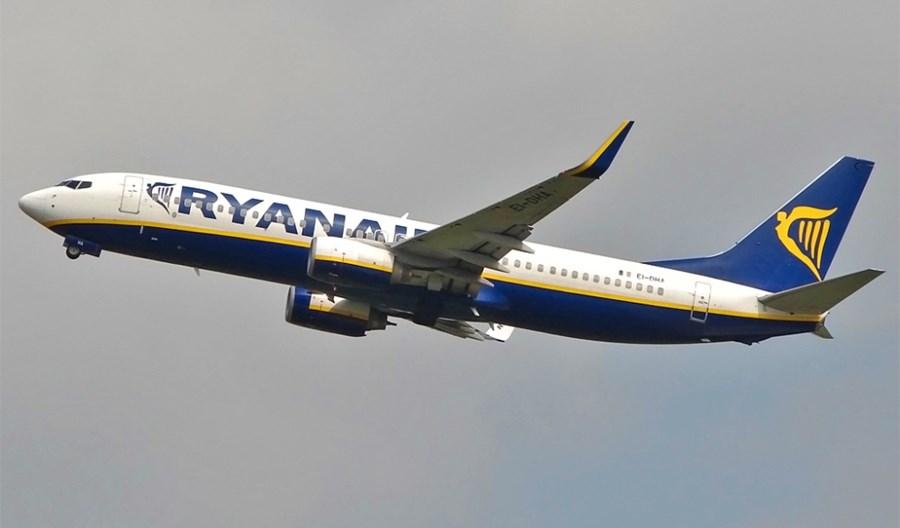 Ryanair obsłuży w sierpniu 1600 tras i osiągnie 60 proc. oferowania