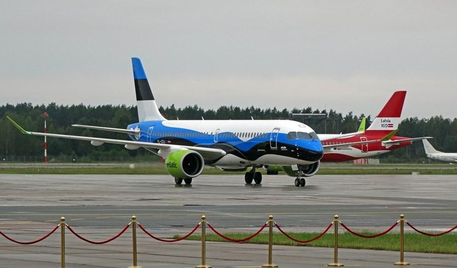 airBaltic od 18 maja ponownie połączy stolice Łotwy, Litwy i Estonii