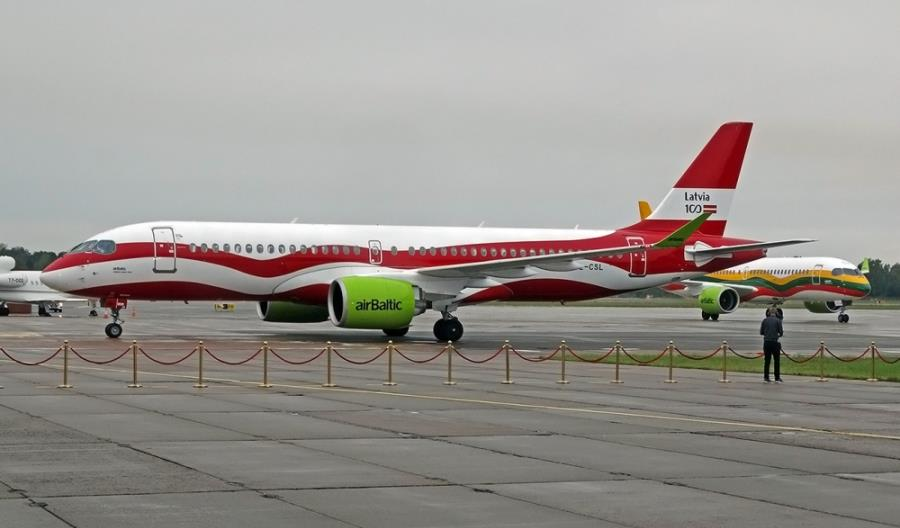 airBaltic planuje powrót do Warszawy 20 lipca. Polecimy airbusem A220
