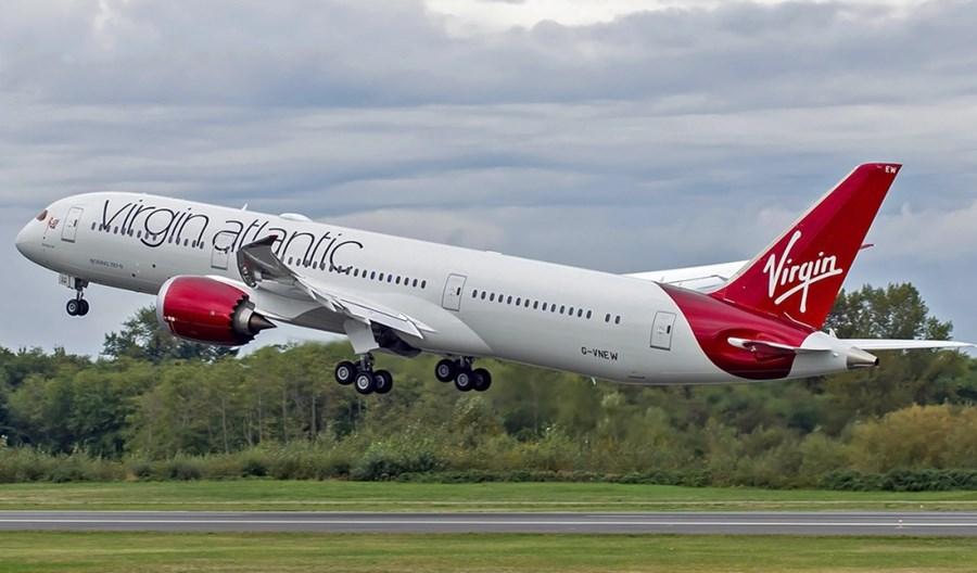 Virgin Atlantic obsłużą od września loty z Anglii do Indii