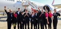 Qantas wykonał pierwszy lot testowy do projektu Sunrise (Zdjęcia)
