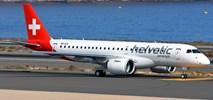 Helvetic Airways odebrały embraera E190-E2. Pojawi się także w Krakowie (Zdjęcia)