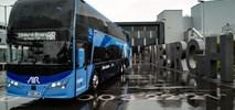 Piętrowe autobusy na trasie Glasgow – Edinburgh Airport