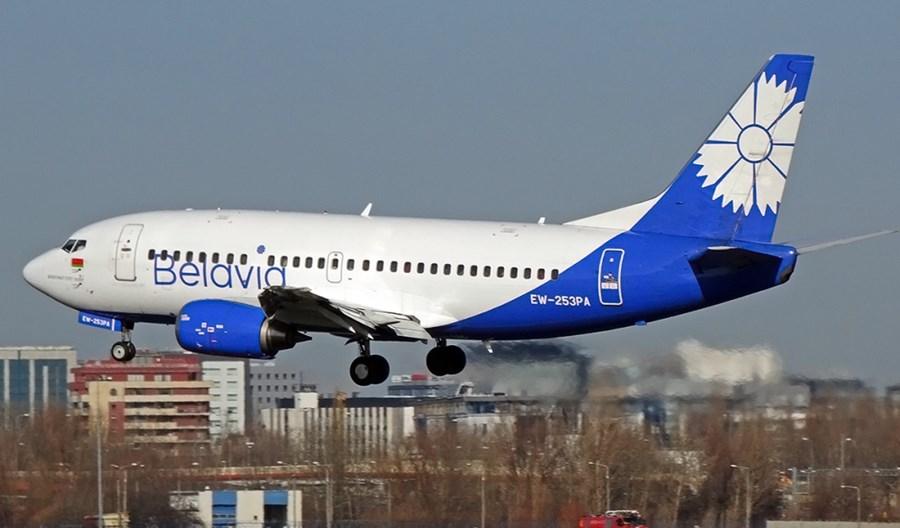 Jest NOTAM dotyczący zakazu wlotów samolotów z Białorusi