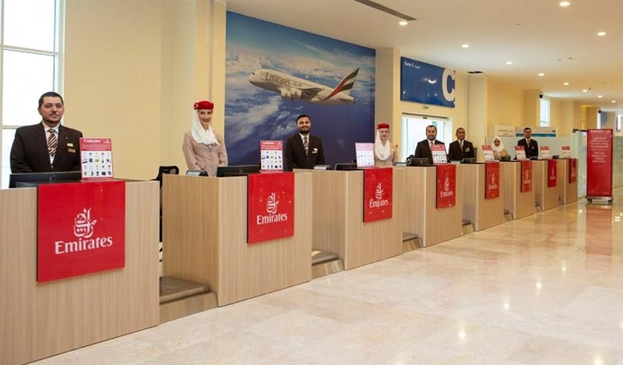 Obsługa naziemna Emirates obsłużyła ostatnie loty, ale to nie było pożegnanie
