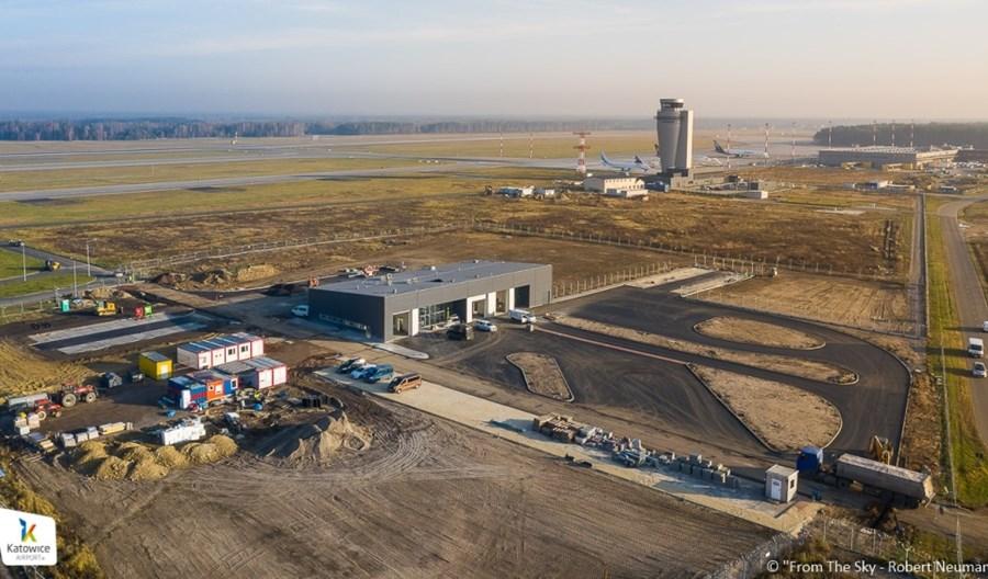 Trwa pogram inwestycyjny w Katowice Airport. Powstaje m.in. centralna wartownia