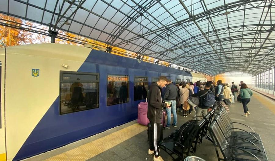 """Kijów: Blisko milion pasażerów """"ekspresu boryspolskiego"""""""