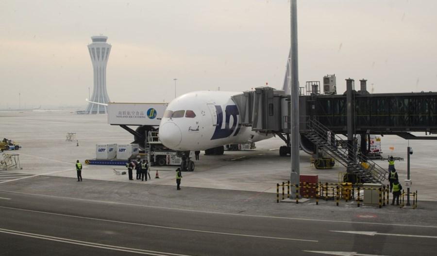 LOT wydłuża zawieszenie lotów do Pekinu do 28 marca