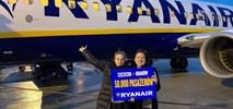50 tys. pasażerów Ryanaira na trasie Szczecin – Kraków