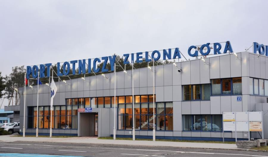 Zamknięte lotnisko w Zielonej Górze