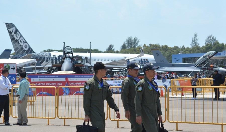 Singapore Airshow w cieniu epidemii koronawirusa z Wuhan