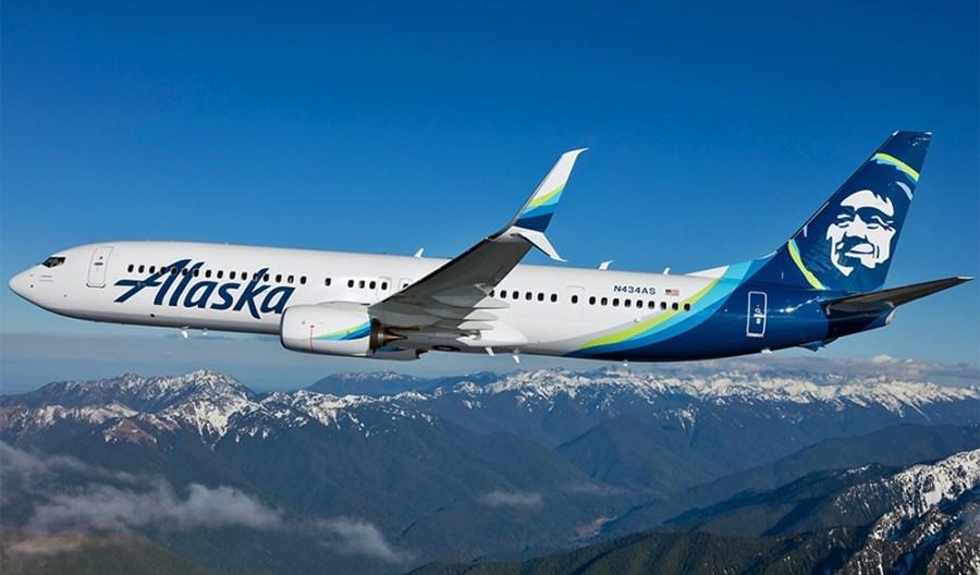 102 mln dolarów kwartalnej straty Alaska Airlines