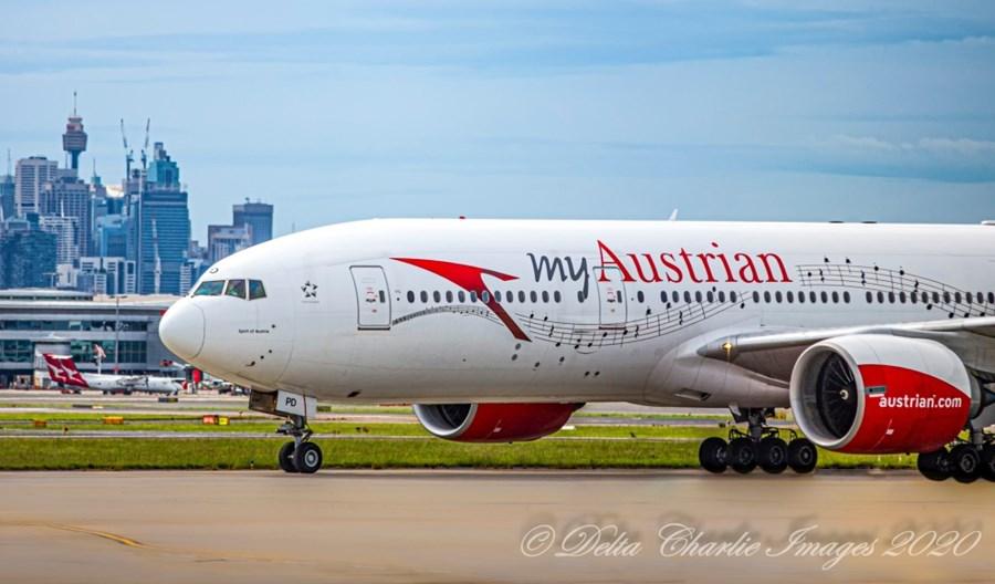 Wsparcie dla Austrian Airlines uzależnione od wypełnienia warunków klimatycznych