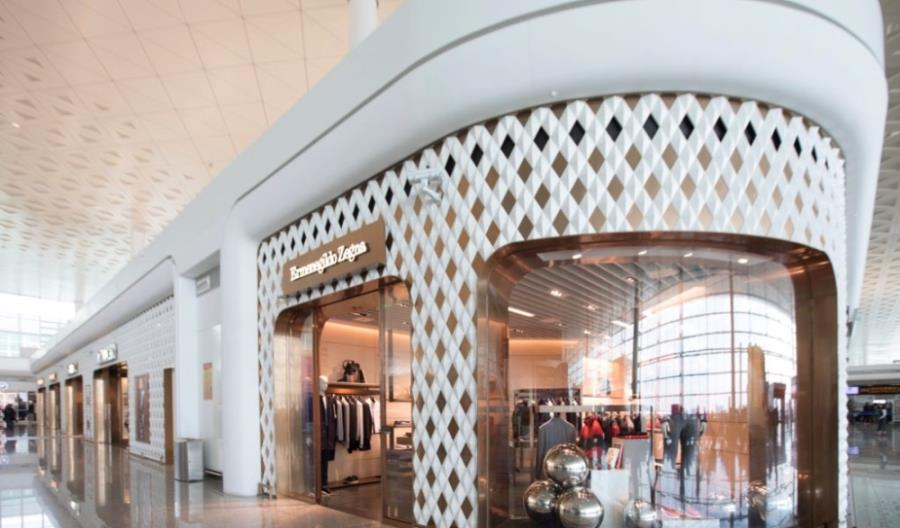 Wraca strefa handlowa na lotnisku Wuhan Tianhe International Airport