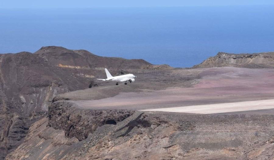 Airbus A318 wylądował na najbardziej odizolowanym lotnisku świata