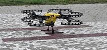 Warszawa: Próbki badań na obecność wirusa poleciały dronem
