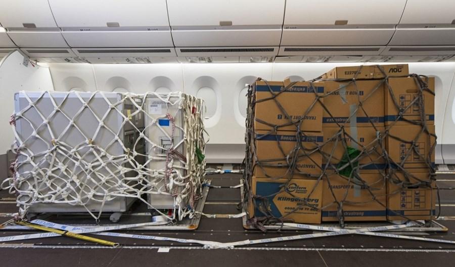 Airbus opracował rozwiązanie dla samolotów szerokokadłubowych do operacji cargo podczas pandemii COVID-19