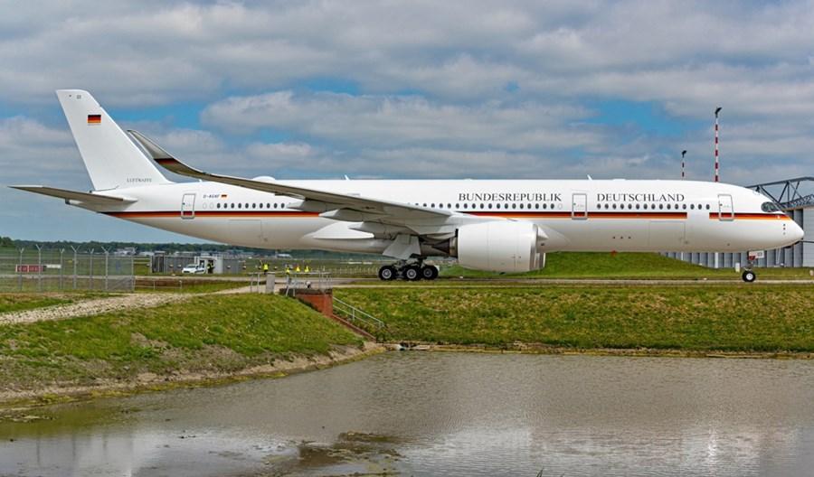 Luftwaffe: Rekordowy testowy przelot airbusa A350-900