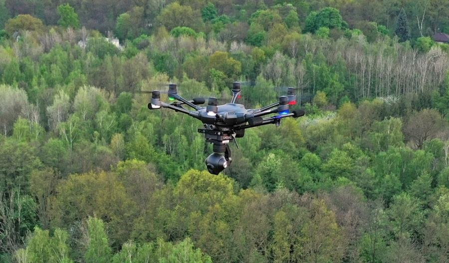 PAŻP podsumowała ruch dronów w lutym br.