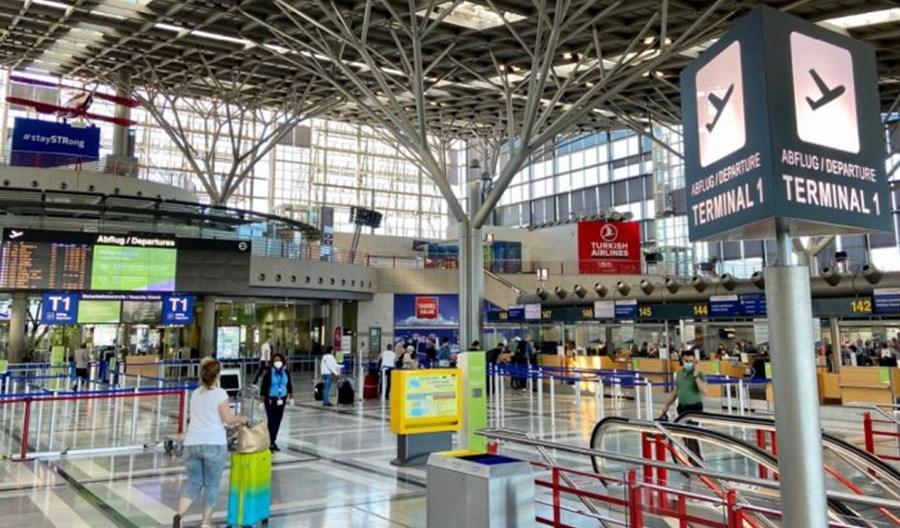 Terminal 1 lotniska w Stuttgarcie znów odprawia pasażerów